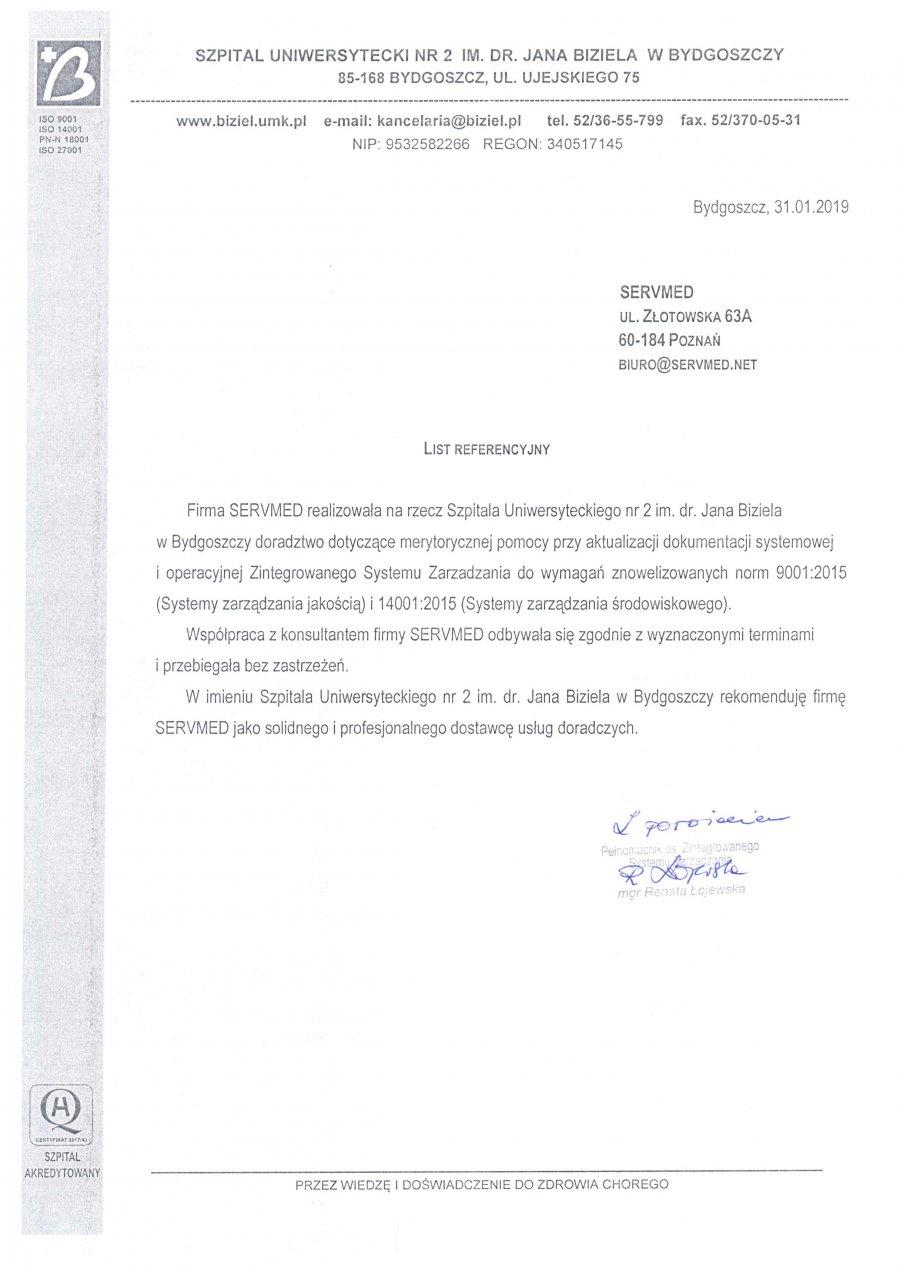 Szpital Uniwersytecki nr 2 im. Biziela w Bydgoszczy